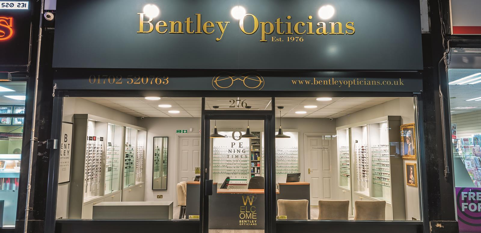 Bentley Opticians Southend on Sea