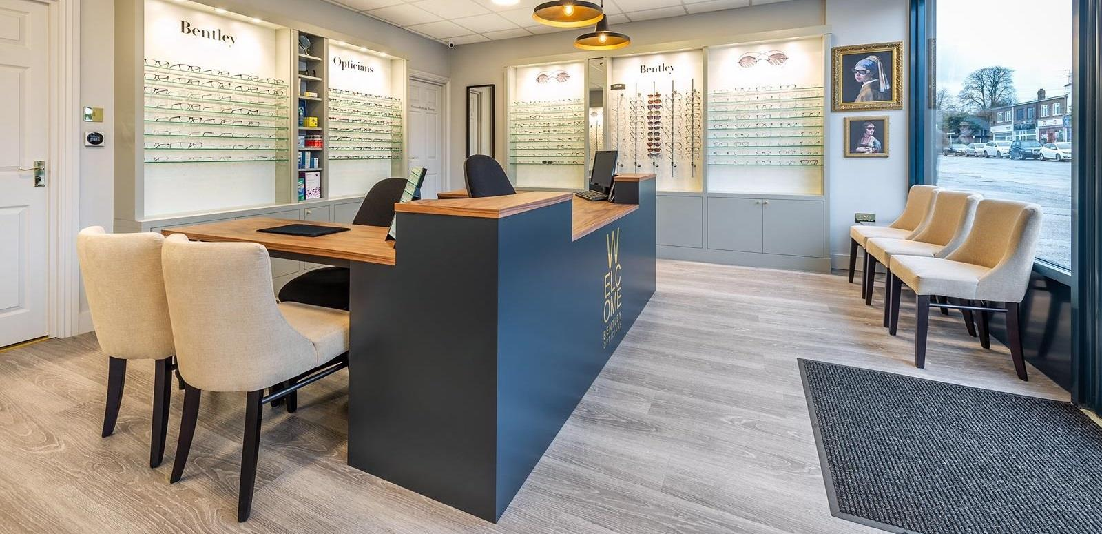 bentley opticians essex